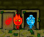 FireBoy & WaterGirl 3 in the Forest Temple