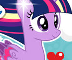Twilight Sparkle Rainbow Power Style